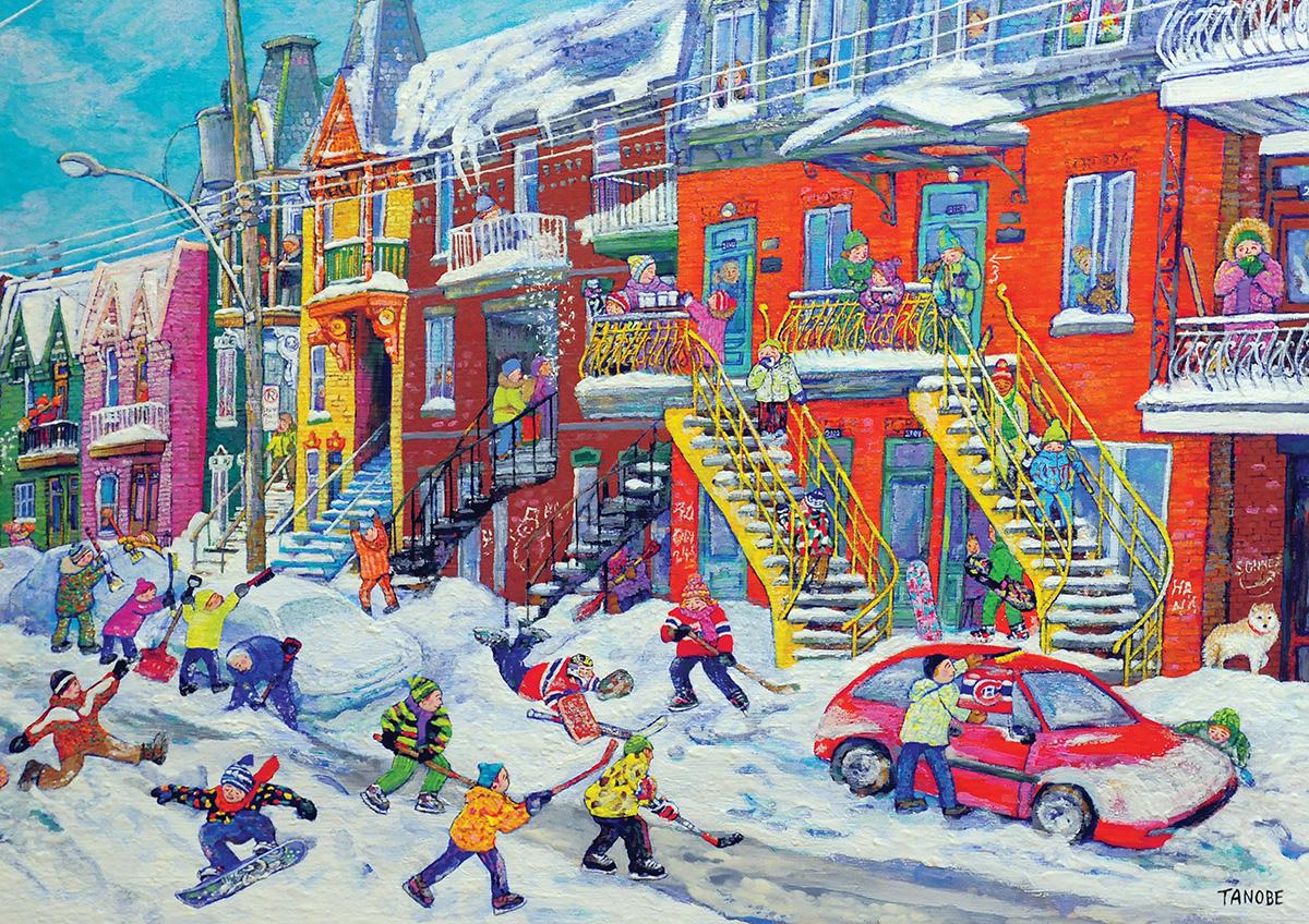 School break Winter Jigsaw Puzzle