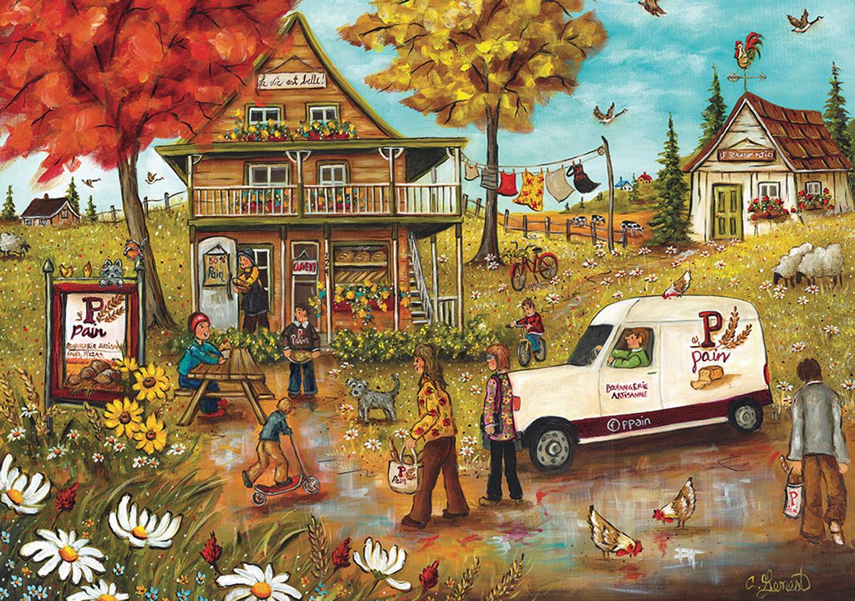 Artisanal Bakery People Jigsaw Puzzle