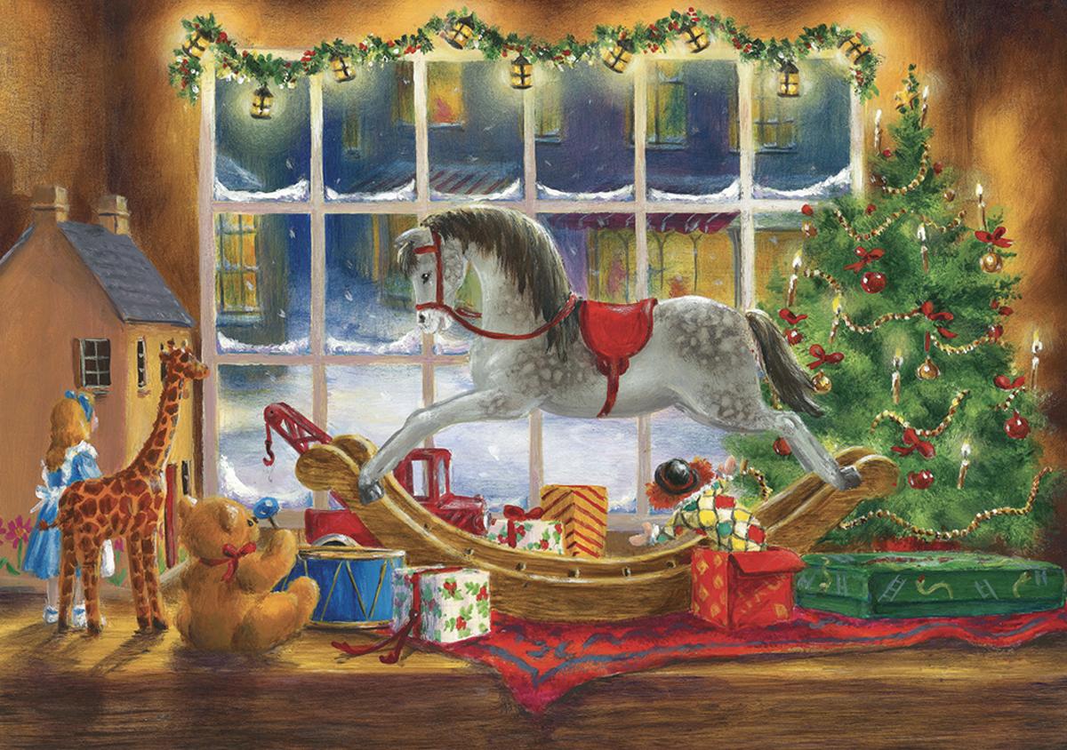 Christmas Toys Christmas Jigsaw Puzzle