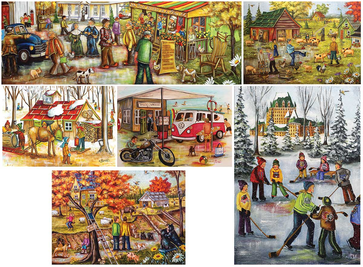 7 In 1: Special Edition Fine Art Jigsaw Puzzle