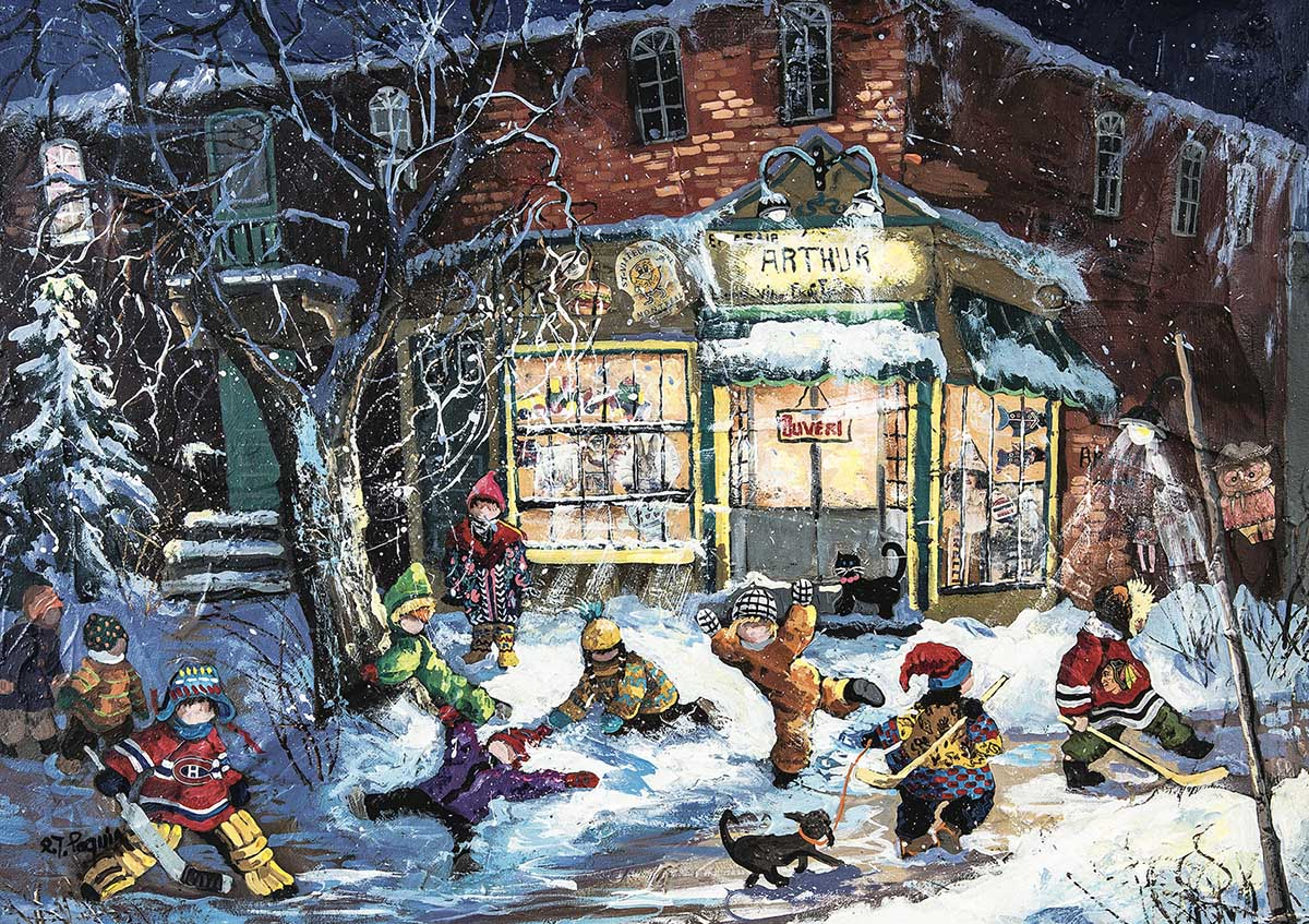 At Arthur's Winter Jigsaw Puzzle