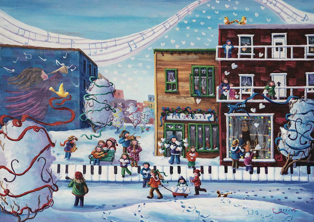 A Gift From The Heart Winter Jigsaw Puzzle