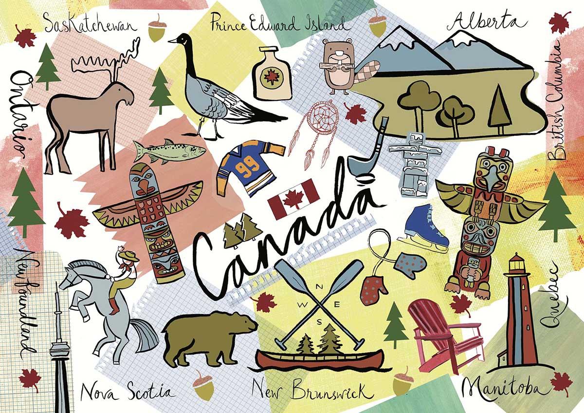 Canada Canada Jigsaw Puzzle