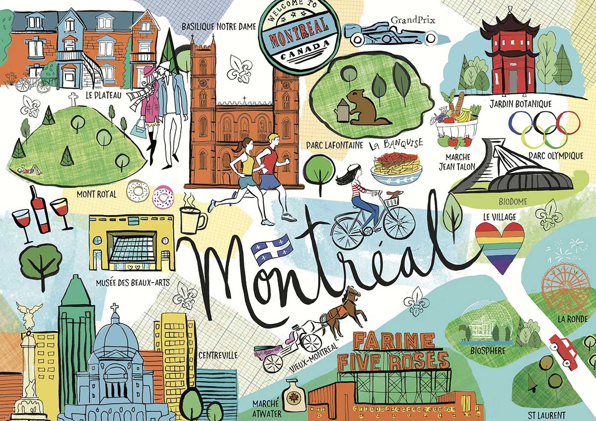 Montreal Travel Jigsaw Puzzle