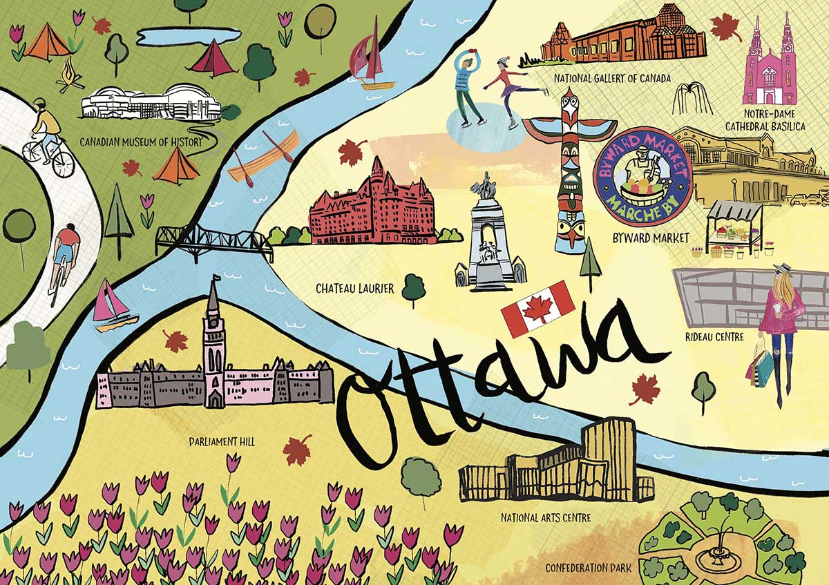 Ottawa - Scratch and Dent Travel Jigsaw Puzzle