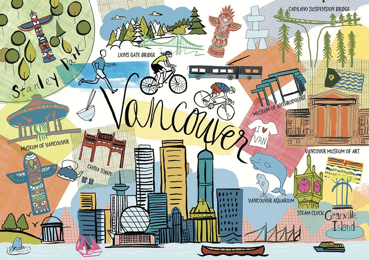 Vancouver Travel Jigsaw Puzzle