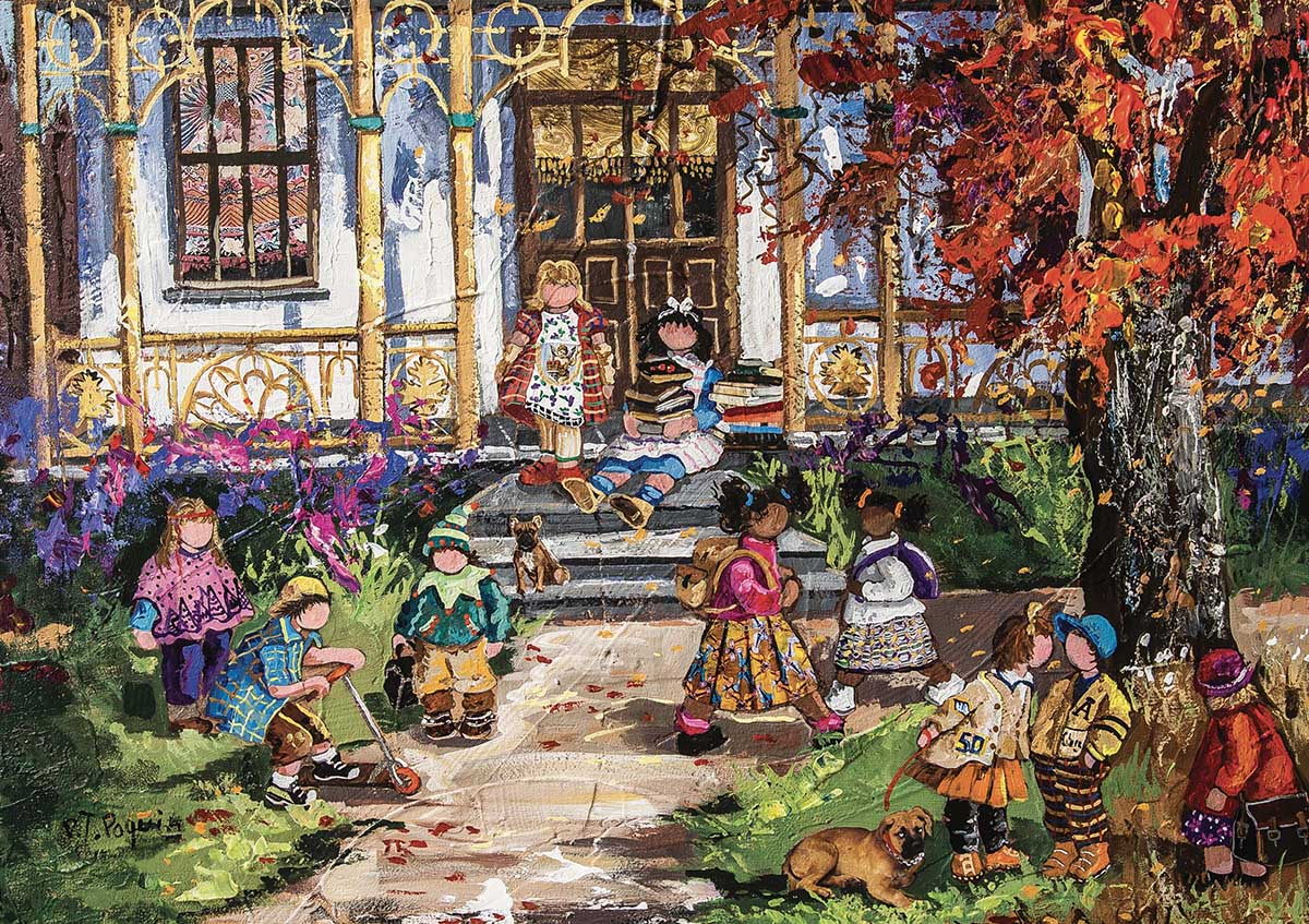 The First Day Fall Jigsaw Puzzle