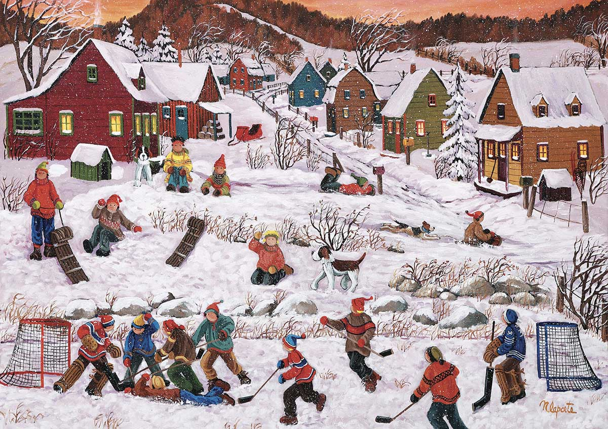 After School Winter Jigsaw Puzzle
