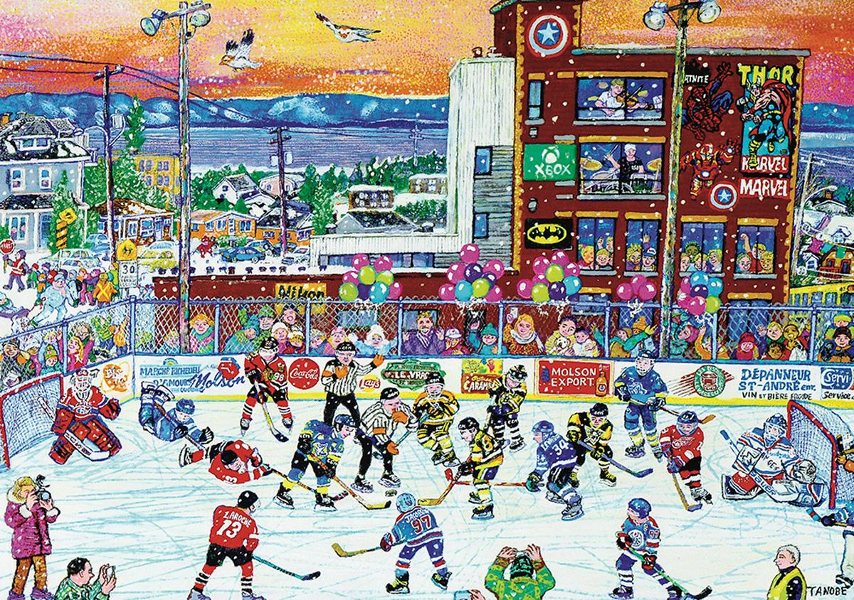 Ice Hockey R.D.L Winter Jigsaw Puzzle