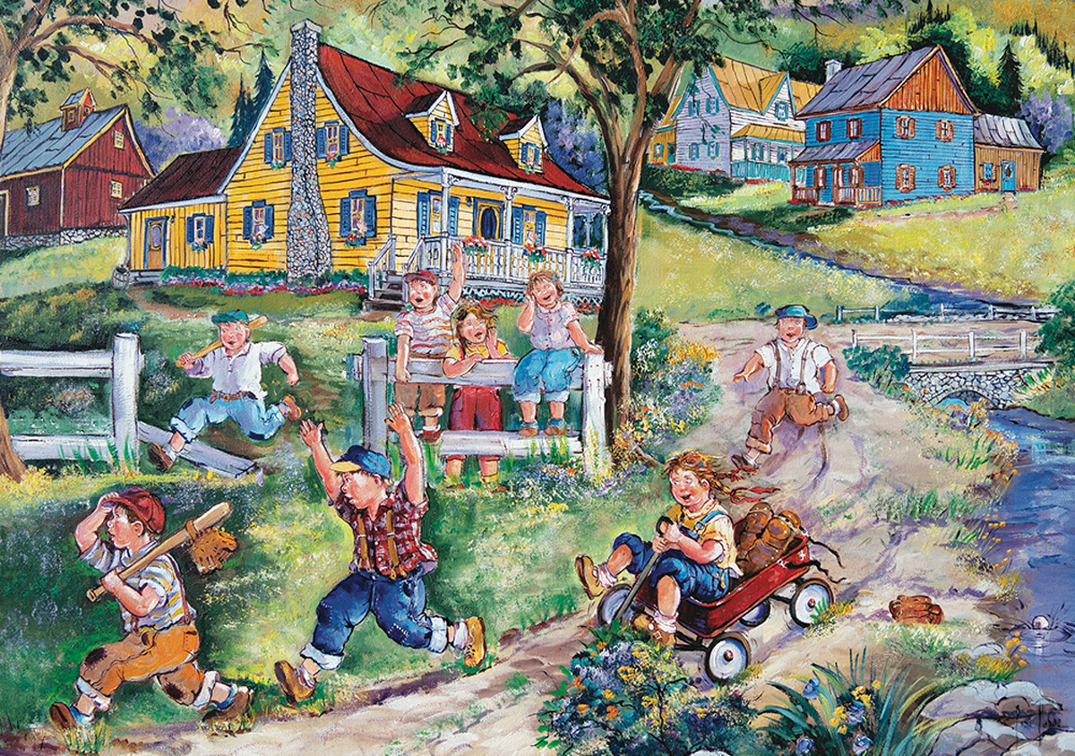 Field Race Outdoors Jigsaw Puzzle