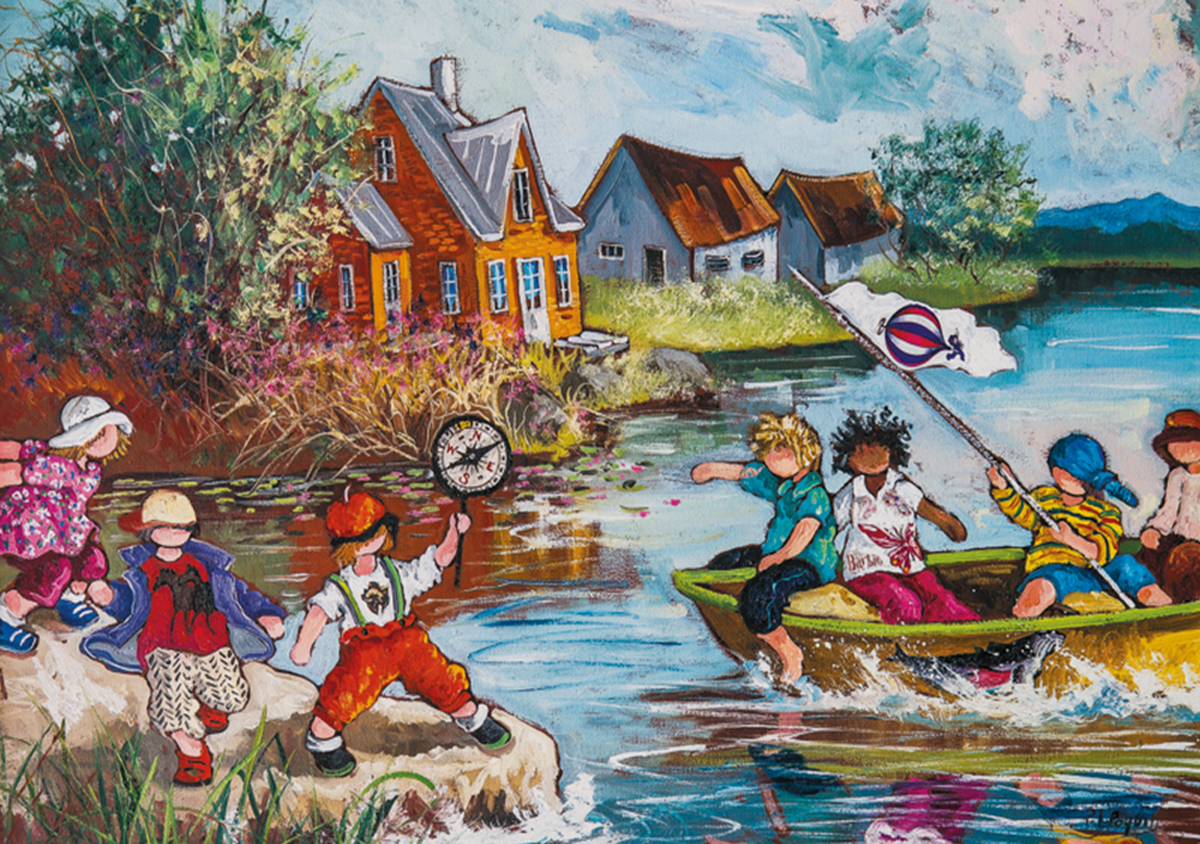 All Aboard! Boats Jigsaw Puzzle