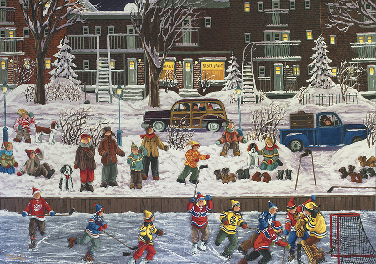 I Remember Street Scene Jigsaw Puzzle