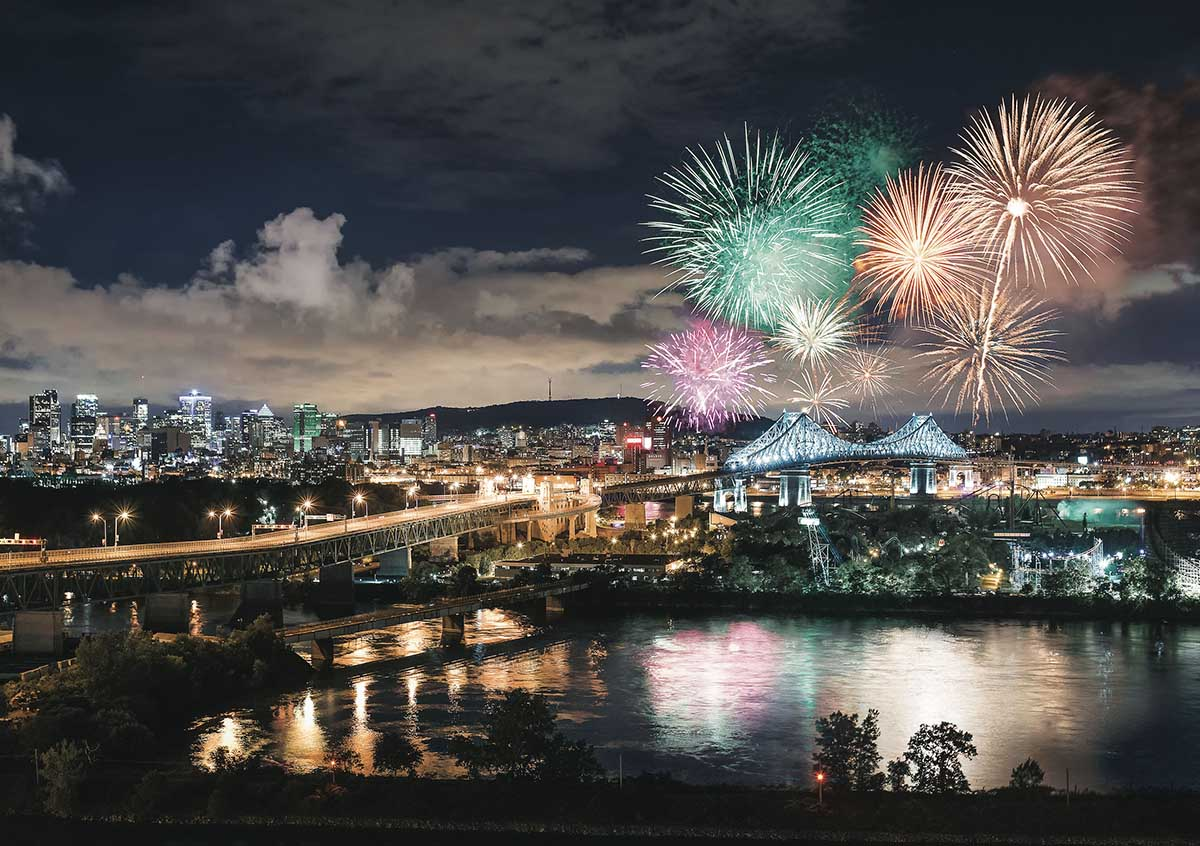 Firework New Year's Eve Jigsaw Puzzle