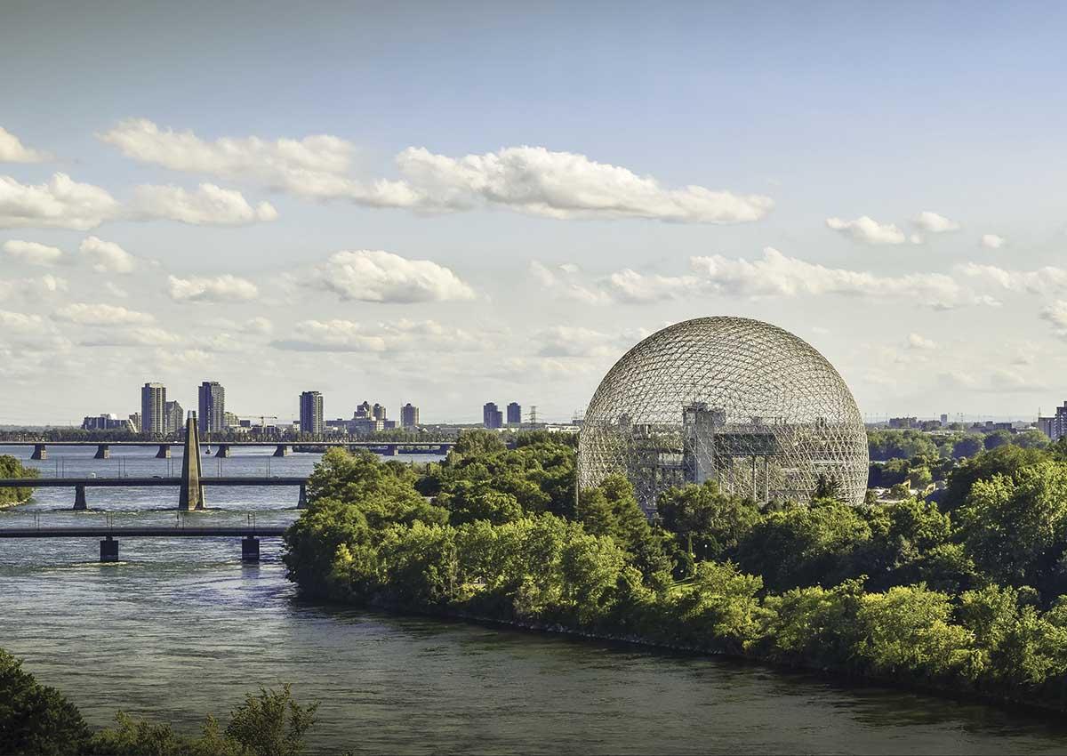 Biosphere Landmarks / Monuments Jigsaw Puzzle
