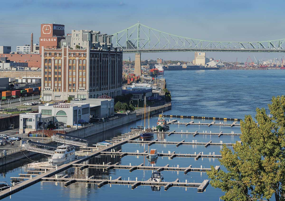 Old Port Canada Jigsaw Puzzle