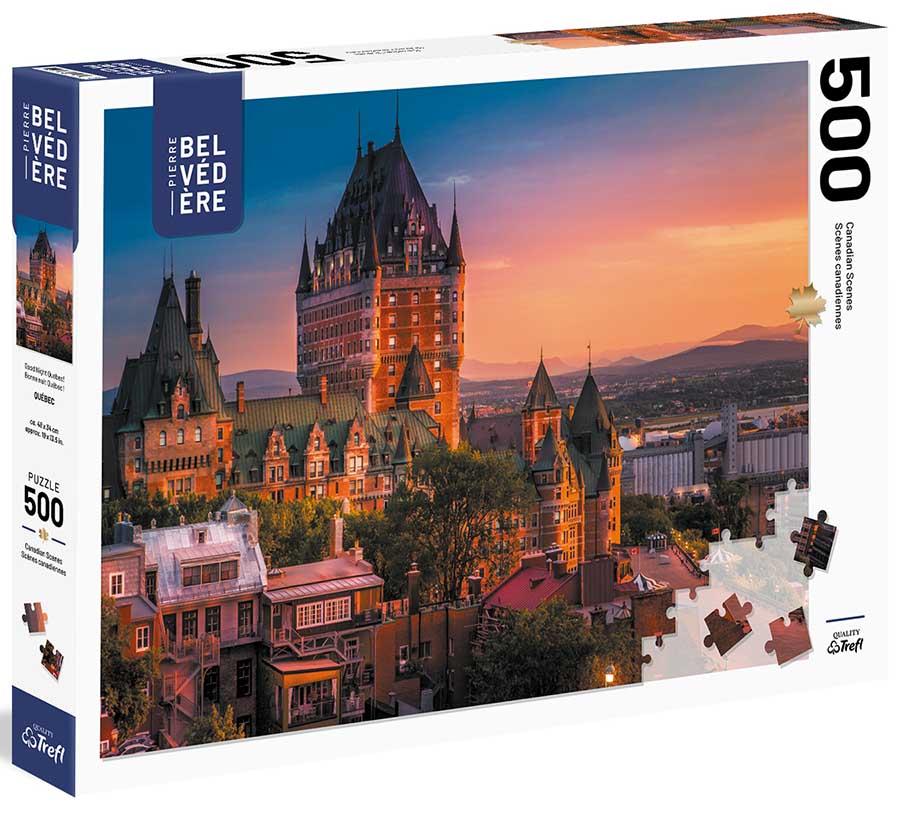 Goodnight Québec Travel Jigsaw Puzzle