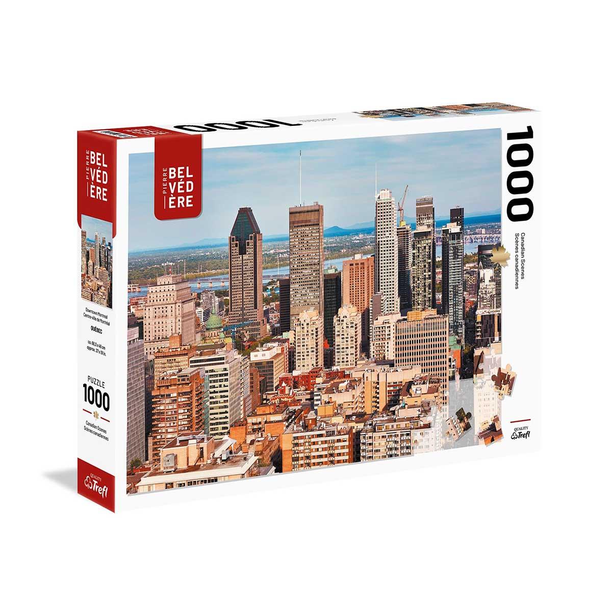 Montreal Skyline / Cityscape Jigsaw Puzzle