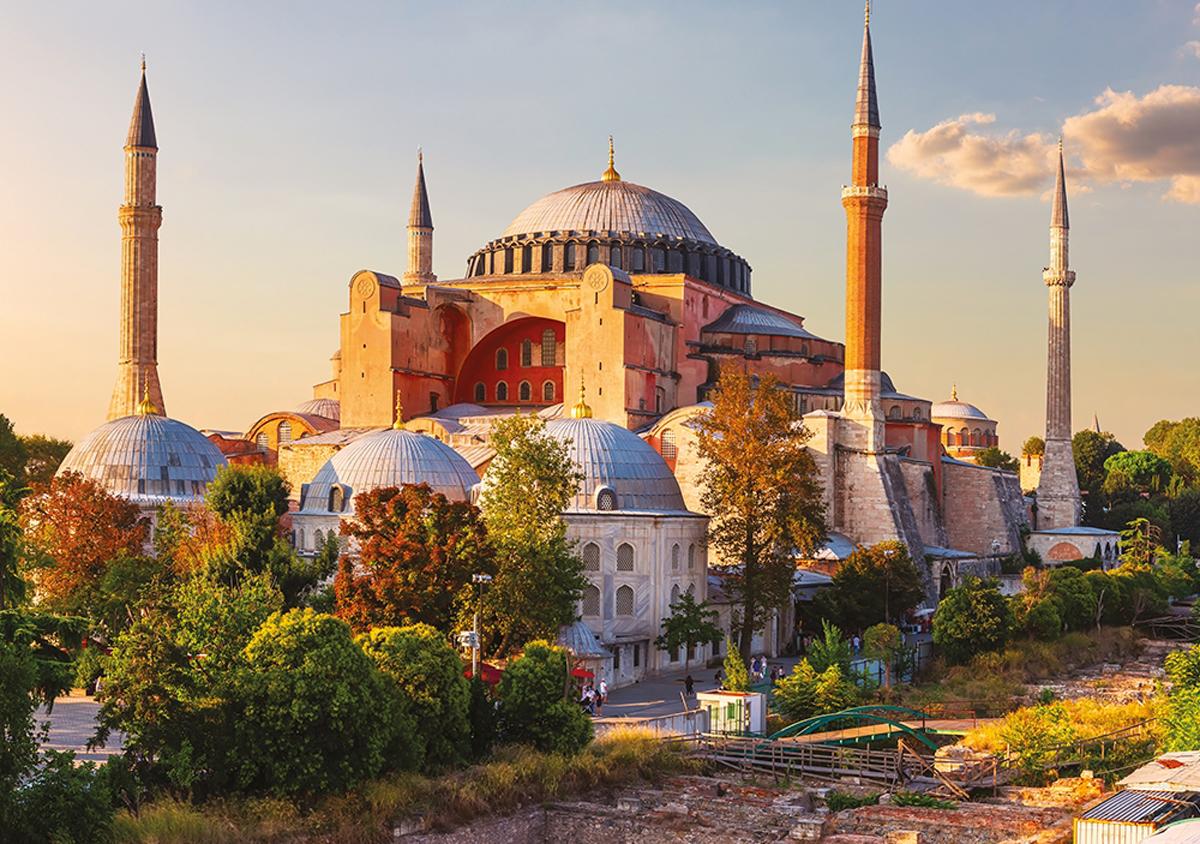 Hagia Sophia Religious Jigsaw Puzzle
