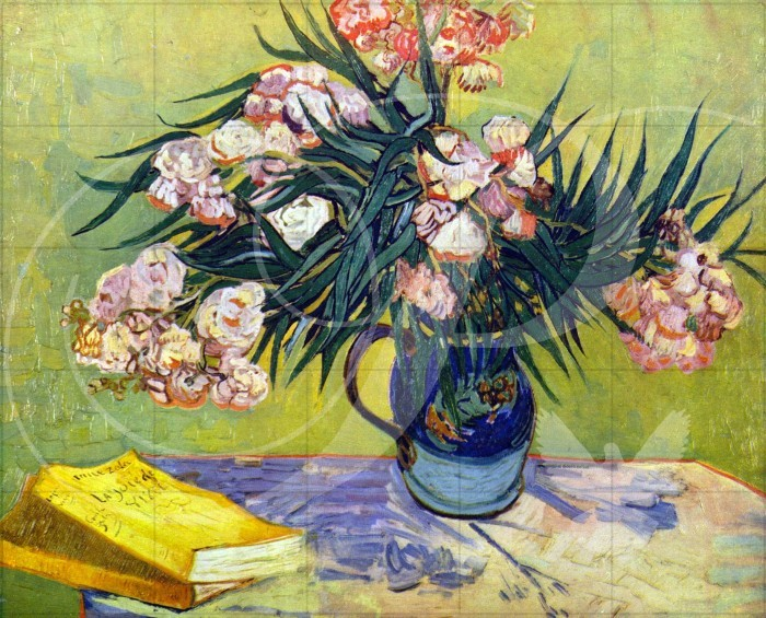 Still Life with Oleander Impressionism Wooden Jigsaw Puzzle