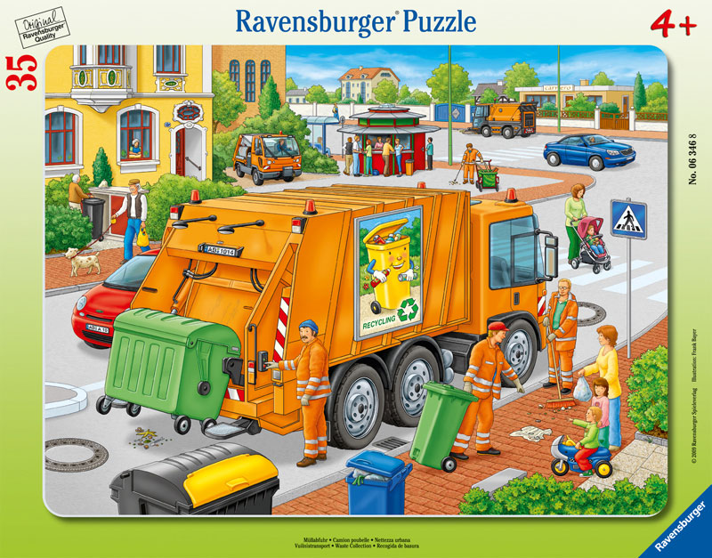 Waste Collection Vehicles Jigsaw Puzzle
