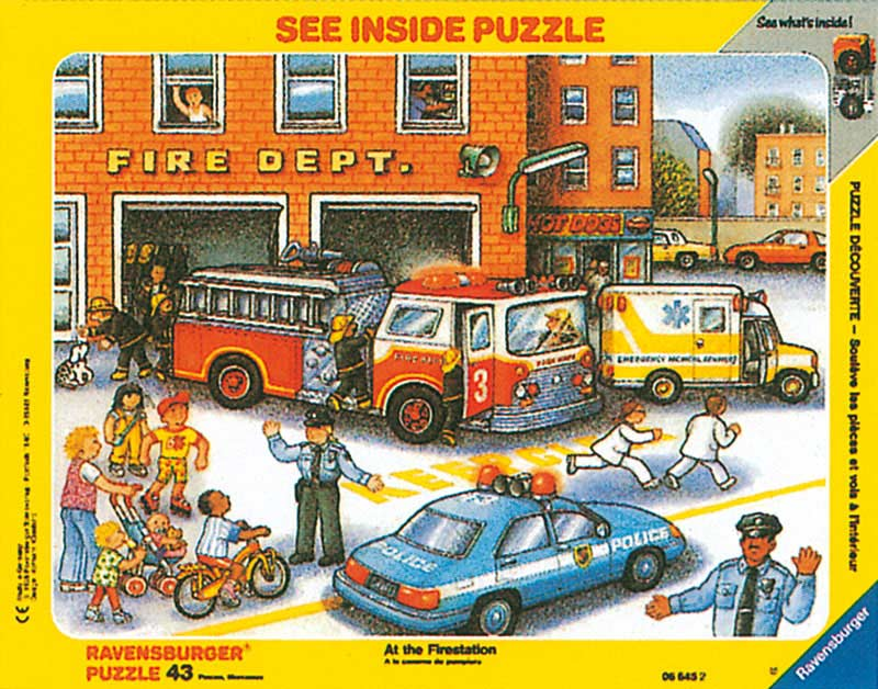 Fire Station Vehicles Jigsaw Puzzle