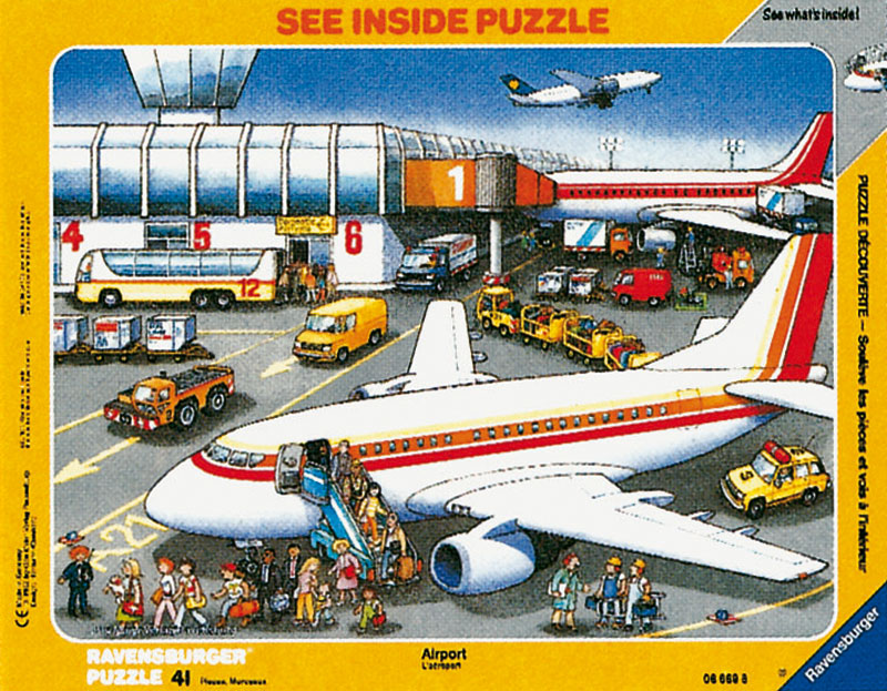 At the Airport Planes Jigsaw Puzzle