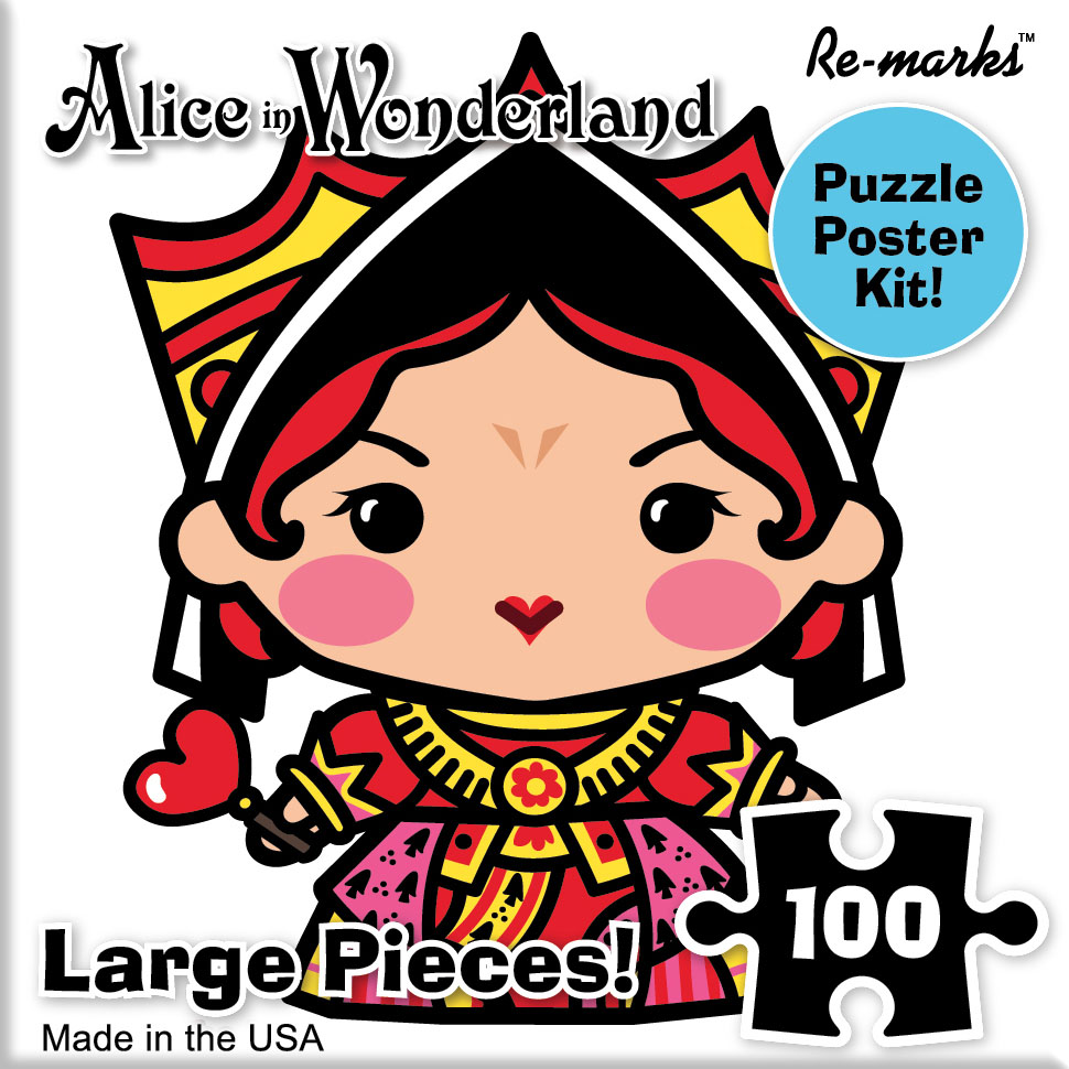 Queen Of Hearts Movies / Books / TV Jigsaw Puzzle