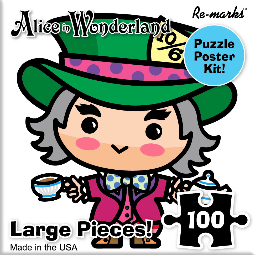 Mad Hatter Movies / Books / TV Jigsaw Puzzle
