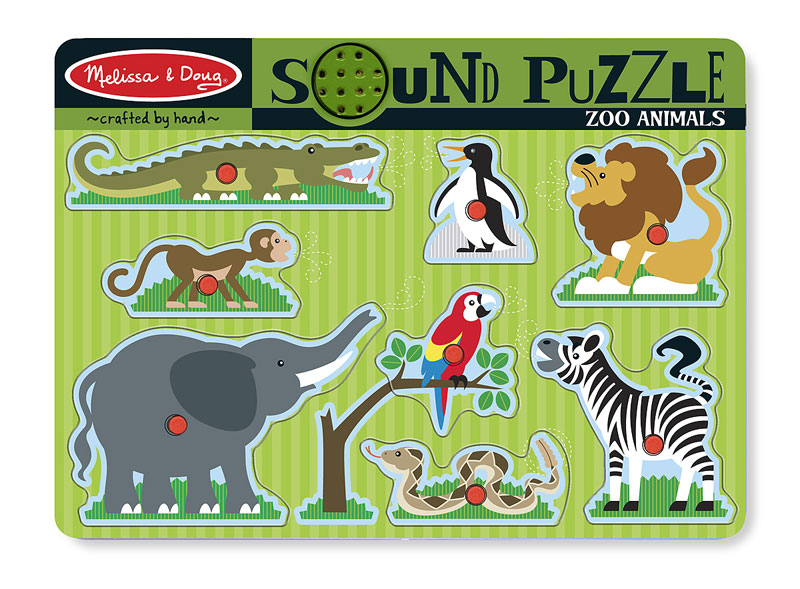 Zoo Animals Lions Jigsaw Puzzle