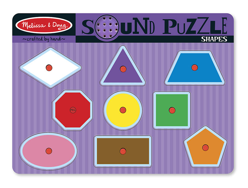 Sound Puzzle - Shapes Educational Children's Puzzles