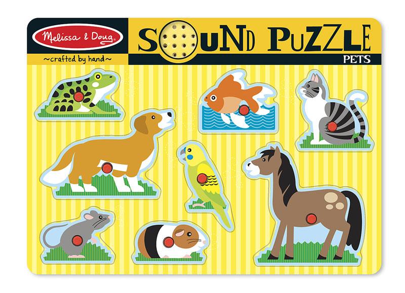 Sound Puzzle - Pets Other Animals Children's Puzzles