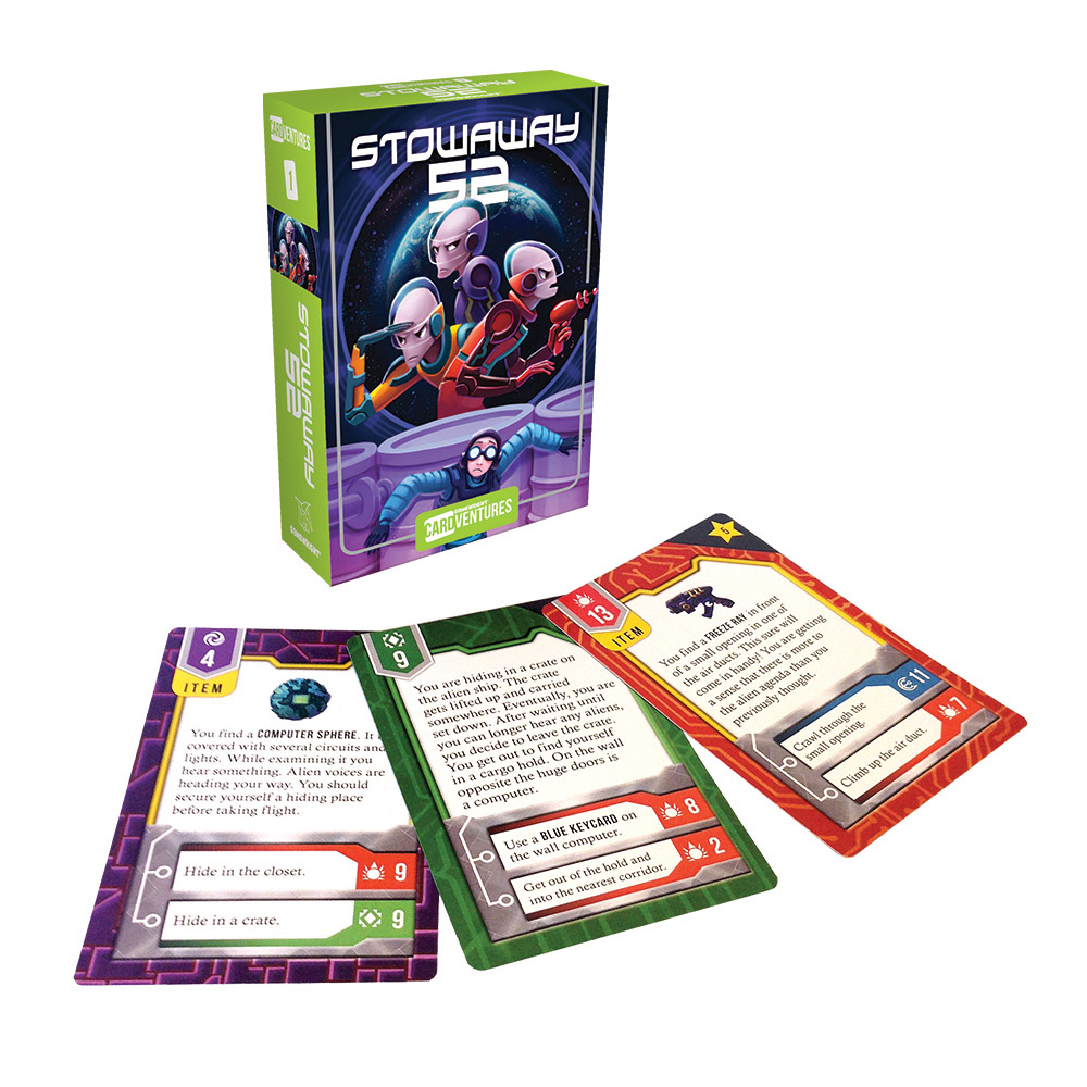 Stowaway 52 - Cardventures 1 Sci-fi