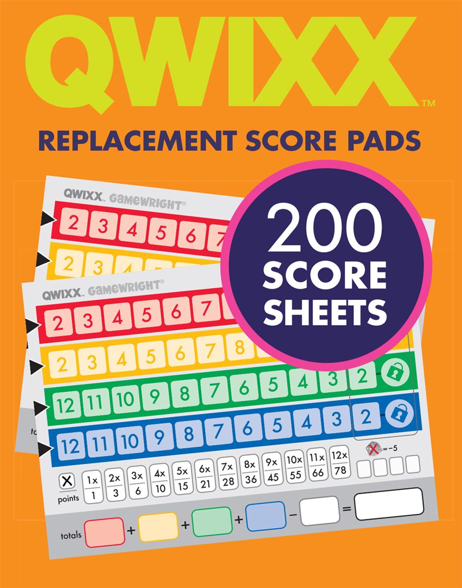 Qwixx Mixx Pads