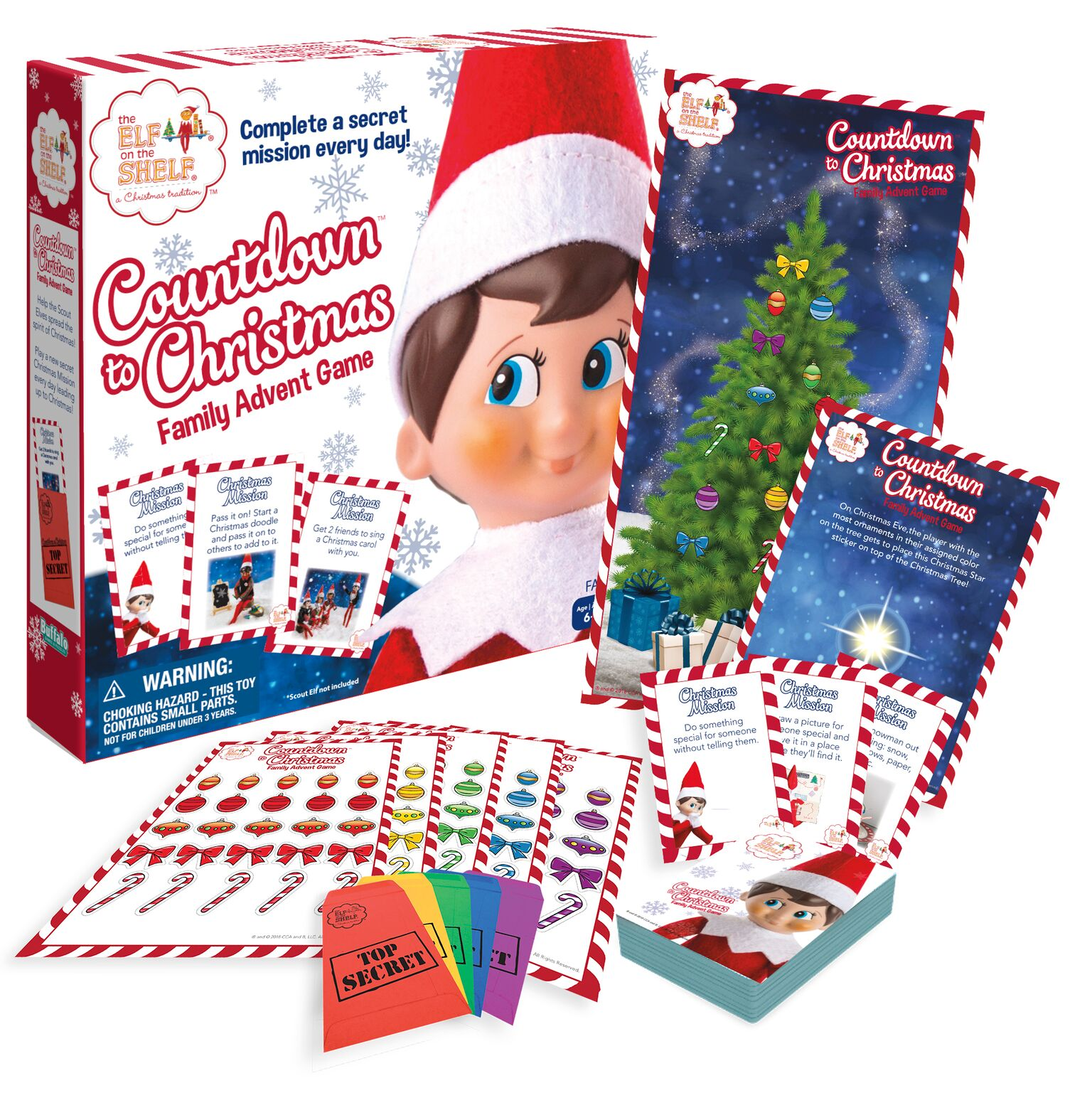 Elf on the Shelf - Countdown to Christmas