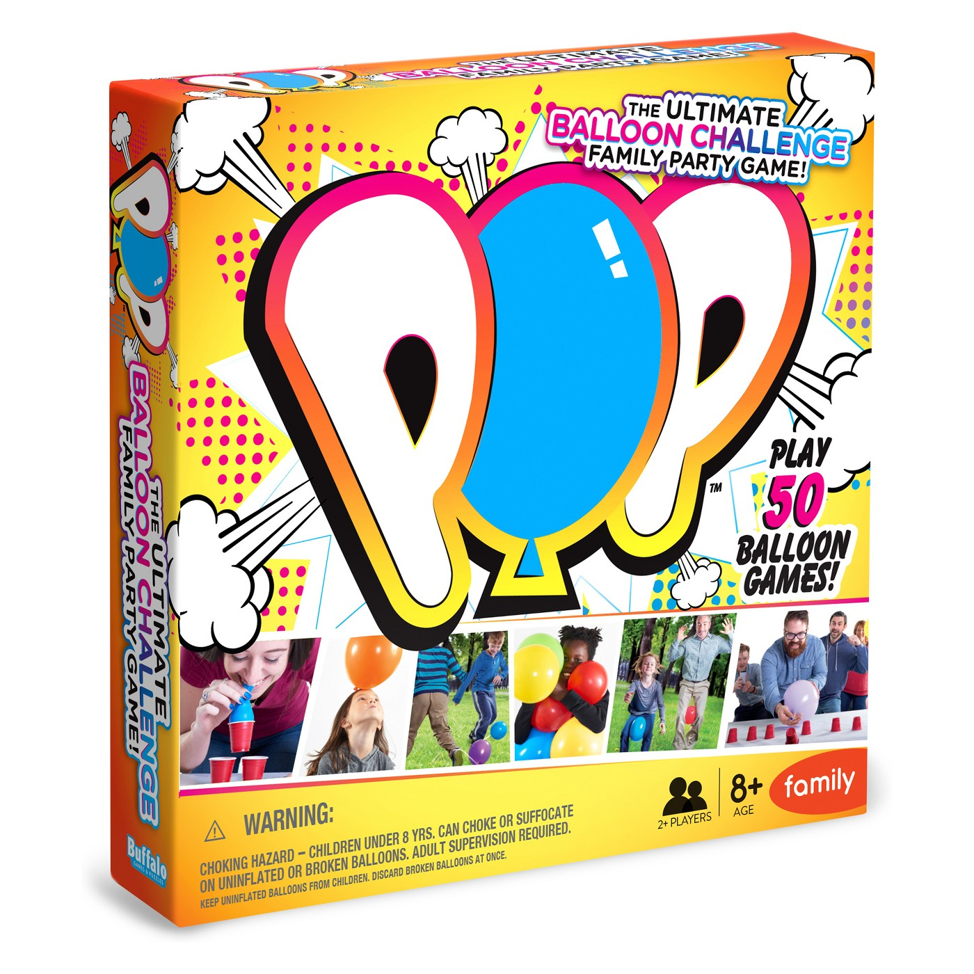 POP - The Ultimate Balloon Challenge Family Party Game