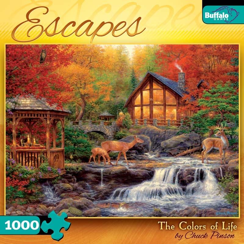 Escapes - Colors of Life Fall Jigsaw Puzzle