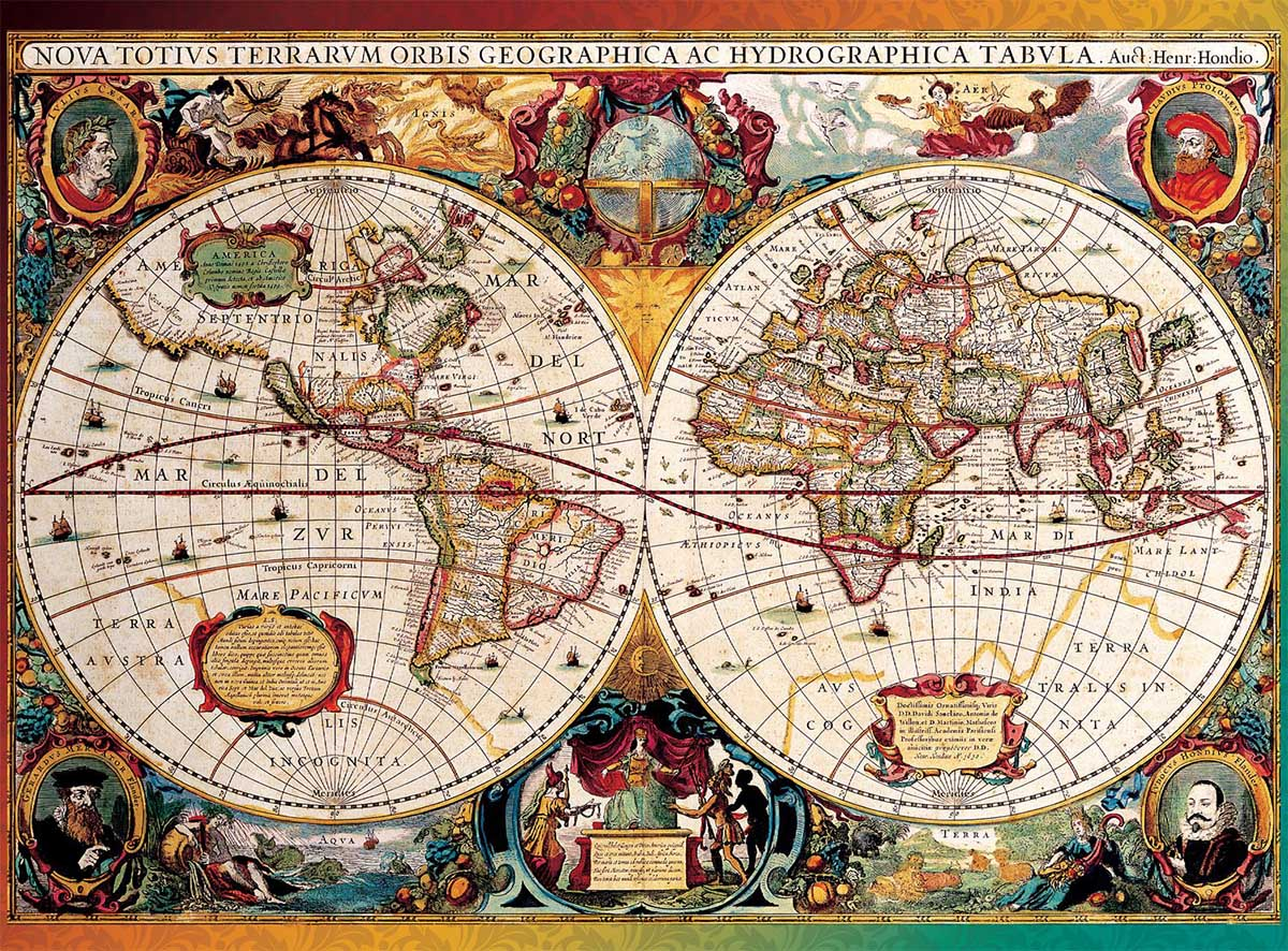 Antique Map Maps / Geography Jigsaw Puzzle