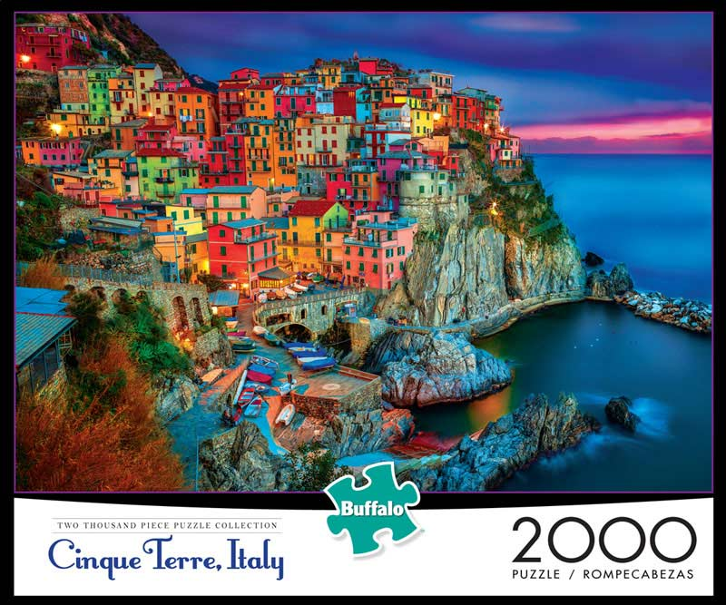 New Cinque Terre - Scratch and Dent Italy Jigsaw Puzzle