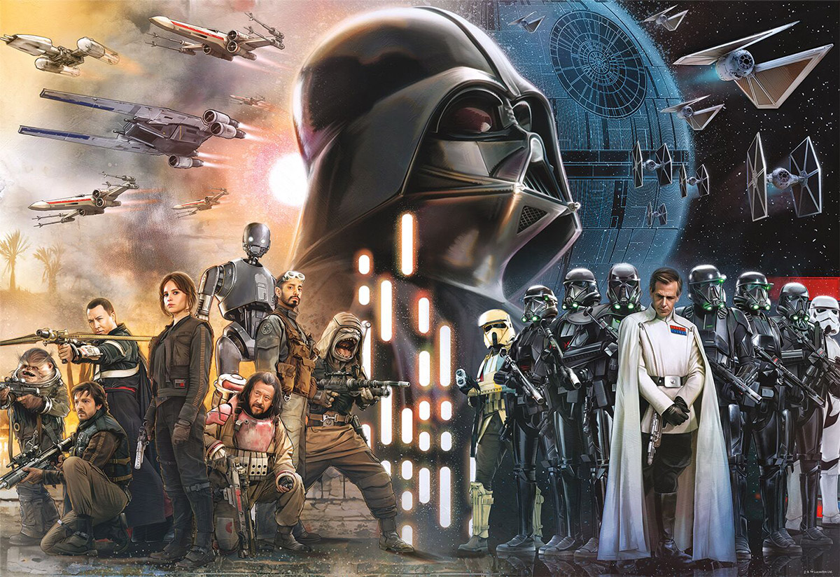 "Star Wars™: Rogue One - ""Rebellions are Built on Hope"" - Scratch and Dent Disney Jigsaw Puzzle"