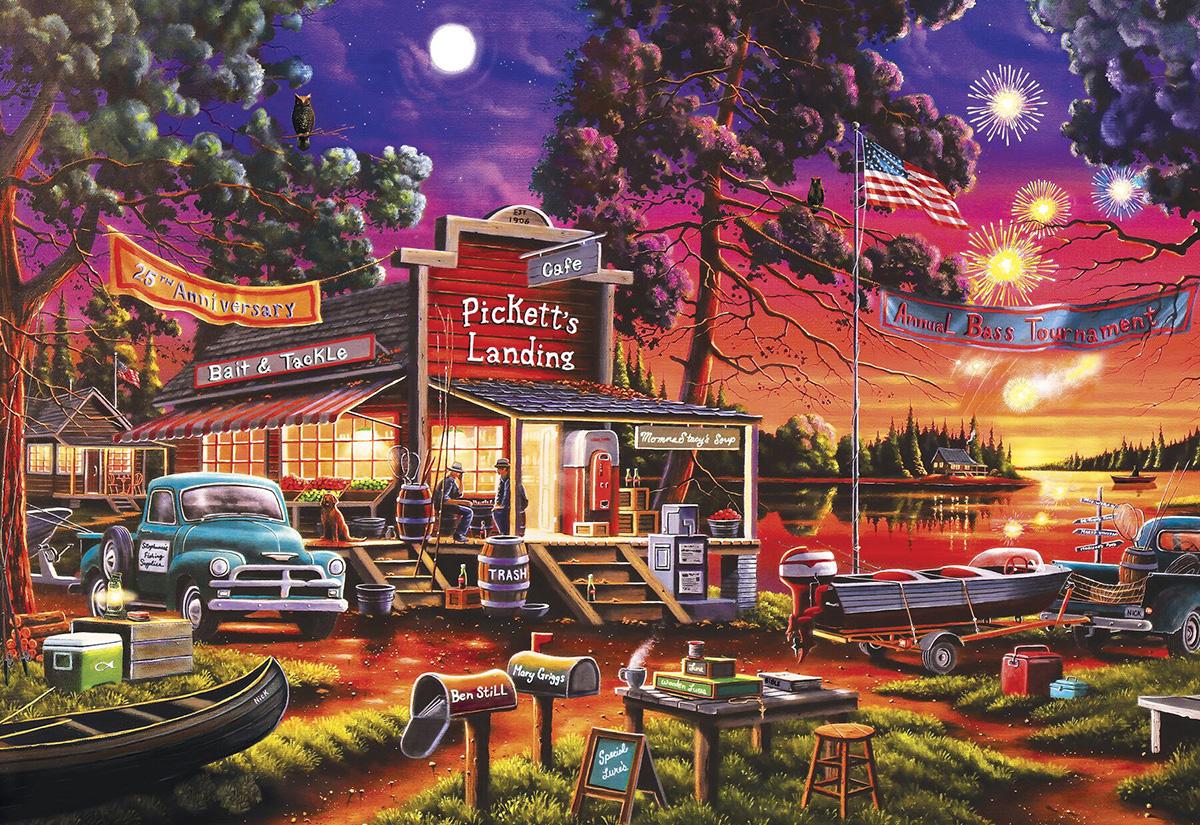 Pickett's Celebration Nostalgic / Retro Jigsaw Puzzle