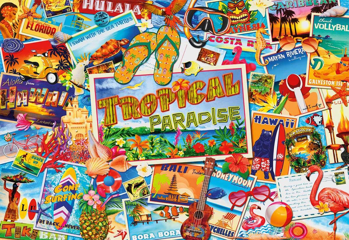 Tropical Paradise Travel Jigsaw Puzzle