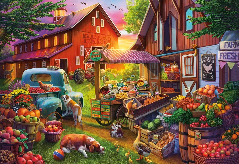 Bell's Farm Farm Jigsaw Puzzle