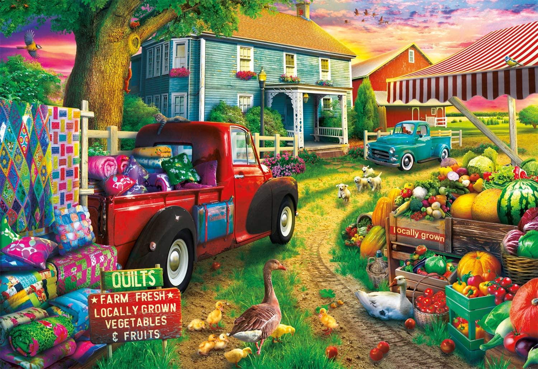 Quilt Farm - Scratch and Dent Farm Jigsaw Puzzle