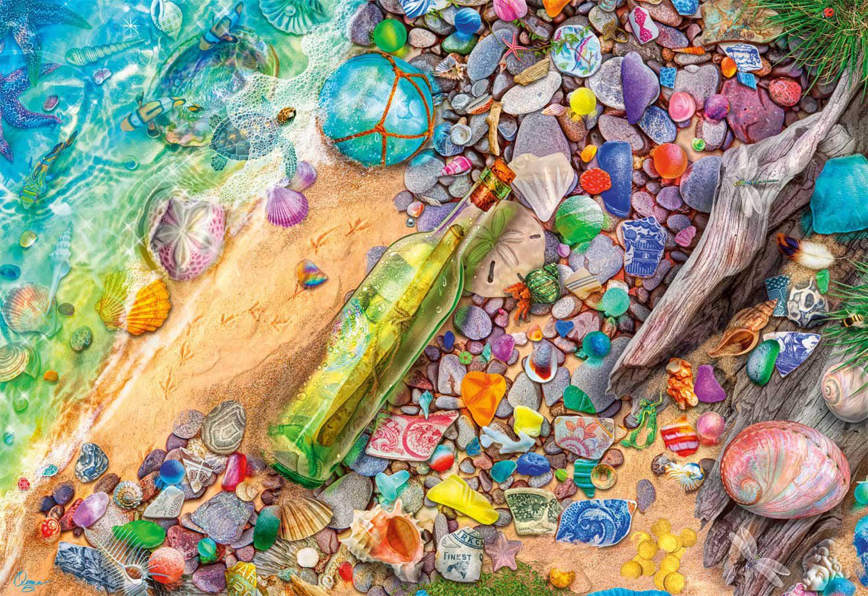 Beachcombers Bounty Beach Jigsaw Puzzle