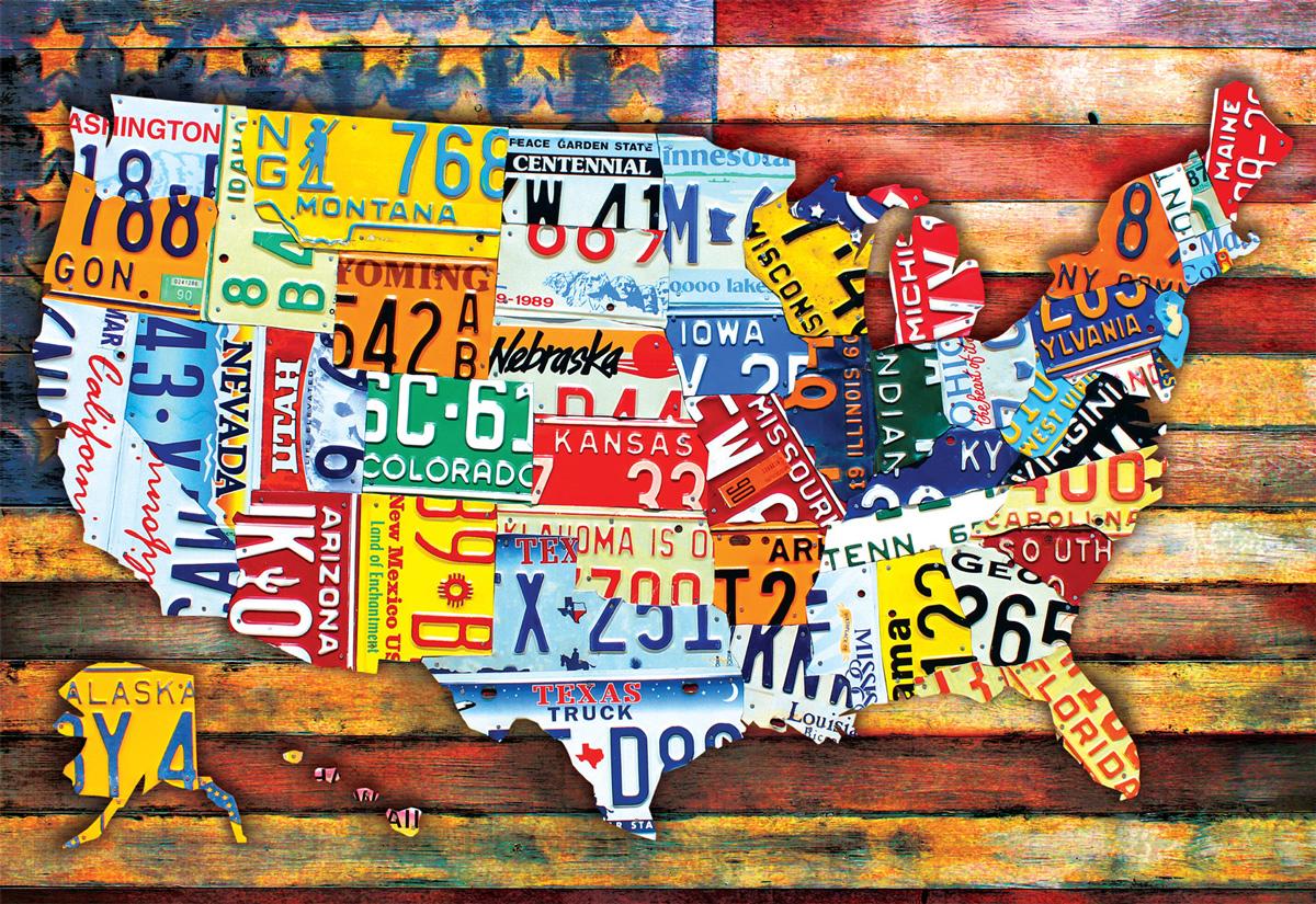 Road Trip USA Travel Jigsaw Puzzle