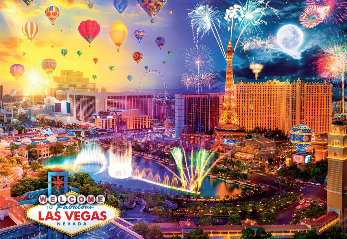 Fabulous Las Vegas Las Vegas Jigsaw Puzzle