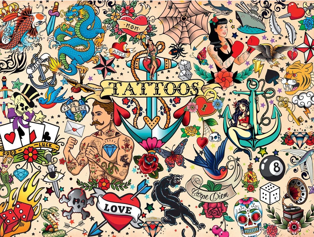 Tattoopalooza Graphics / Illustration Jigsaw Puzzle