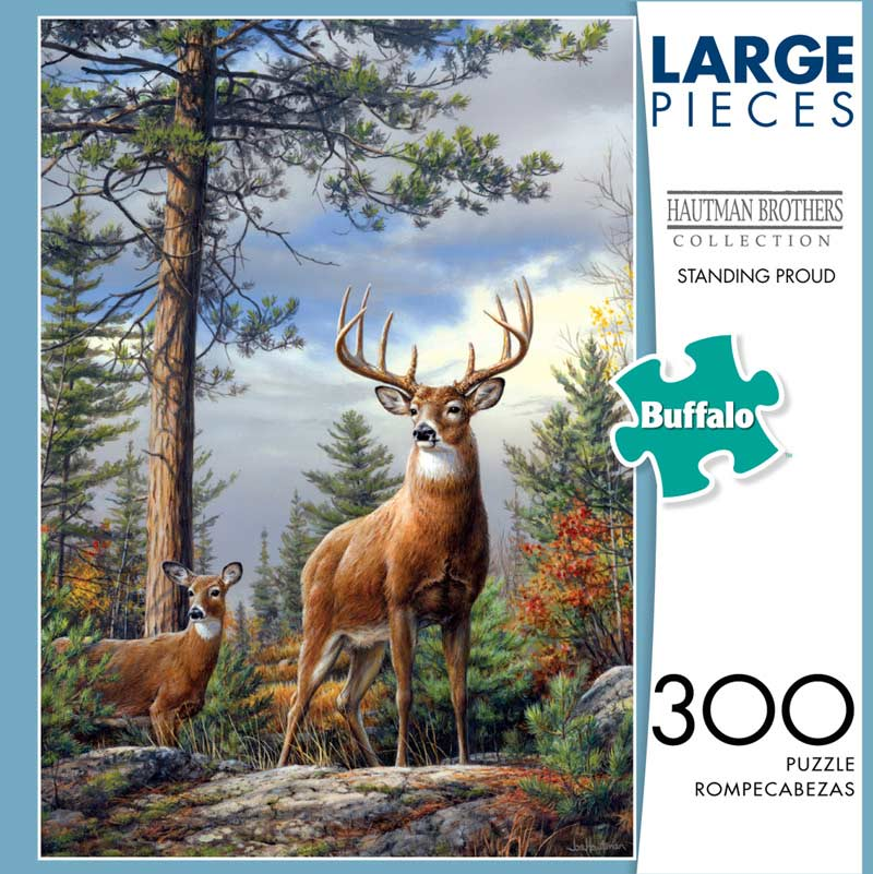 Standing Proud Deer Jigsaw Puzzle