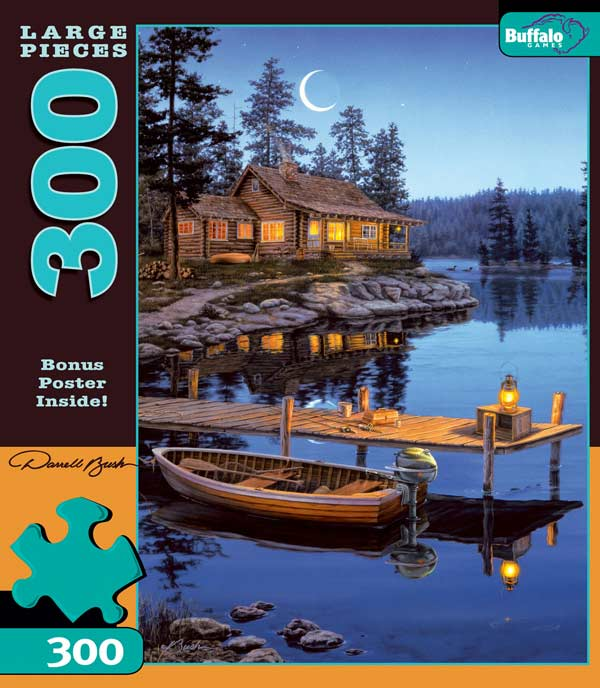 Crescent Moon Bay Outdoors Jigsaw Puzzle