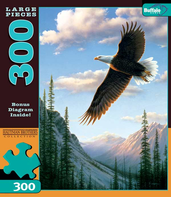 Soaring Eagle Eagles Jigsaw Puzzle